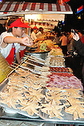 China, Beijing, Night Street food Market