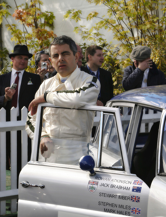 Rowan Atkinson, Goodwood Revival Meeting 2005