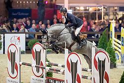 Joppen Loewie, BEL, Pallieter vd N Ranch<br /> Pavo Hengstencompetitie<br /> Azelhof Lier 2020<br /> © Hippo Foto - Dirk Caremans