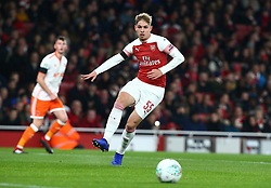 October 31, 2018 - London, England, United Kingdom - London, UK, 31 October, 2018.Emile Smith Rowe of Arsenal.During Carabao Cup fourth Round between Arsenal and Blackpool at Emirates stadium , London, England on 31 Oct 2018. (Credit Image: © Action Foto Sport/NurPhoto via ZUMA Press)