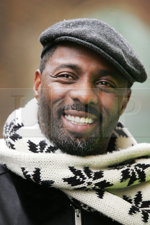 © under license to London News Pictures.  Actor Idris Elba, star of Wire and Luther, opens Elba House, a new social housing development in Andre St, Hackney, named in his honour, on 14th january 2011 Photo credit should read: Olivia Harris/ London News Pictures