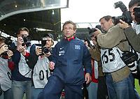Fotball. 23. oktober 2004, <br /> Bundesliga <br /> Borussia Dortmund - Hamburger SV<br /> Thomas DOLL Trainer HSV