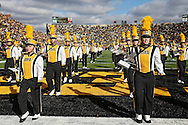 October 31, 2009: The Iowa Marching Band plays before the Iowa Hawkeyes' 42-24 win over the Indiana Hoosiers at Kinnick Stadium in Iowa City, Iowa on October 31, 2009.