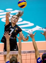 22-08-2017 NED: World Qualifications Belgium - Czech Republic, Rotterdam<br /> Linde Hervent #7 of Belgium