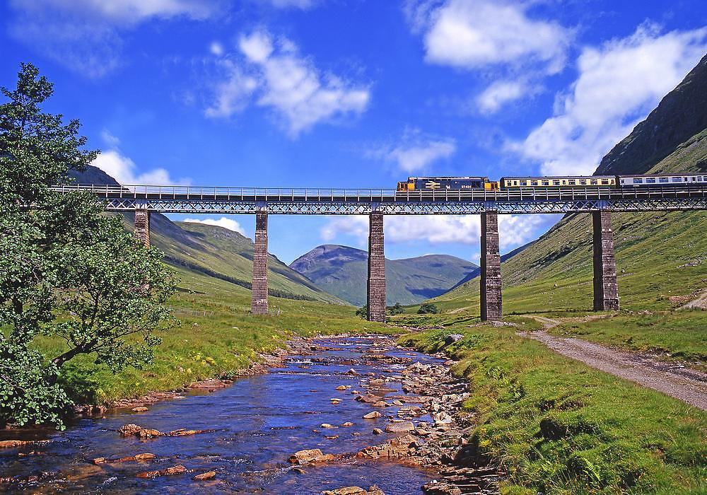 Class 37, Auch Viaduct 1980's