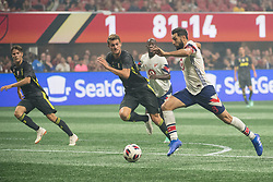 August 1, 2018 - Atlanta, Georgia, United States - MLS All-Star midfielder DIEGO VALERI, 8 (Portland Timbers) during the 2018 MLS All-Star Game at Mercedes-Benz Stadium in Atlanta, Georgia.  Juventus F.C. defeats  MLS All-Stars defeat  1 to 1  (Credit Image: © Mark Smith via ZUMA Wire)
