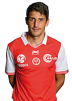 Pablo Chavarria of Reims during the photocall of Reims for new season of Ligue 2 on September 29th 2016 in Reims<br /> Photo : Stade de Reims / Icon Sport
