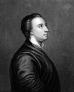 Mark Akenside (1721-1770) English poet and physician. Engraving after portrait by Arthur Pond