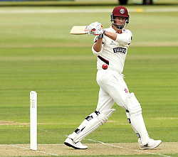 Somerset's Marcus Trescothick pulls - Photo mandatory by-line: Robbie Stephenson/JMP - Mobile: 07966 386802 - 21/06/2015 - SPORT - Cricket - Southampton - The Ageas Bowl - Hampshire v Somerset - County Championship Division One