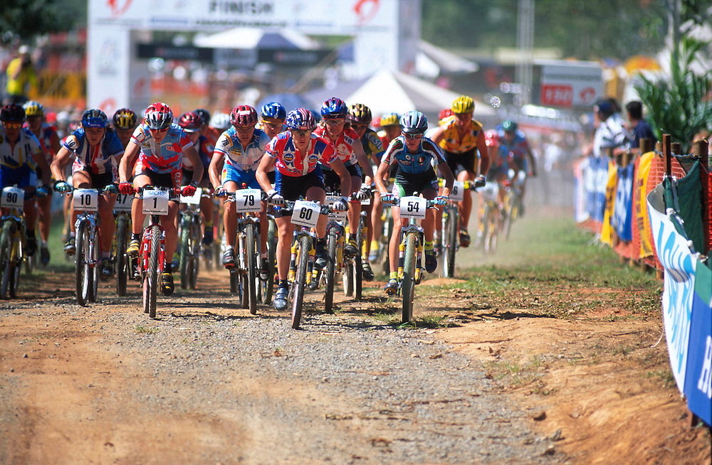 UCI World Mountain Bike Championships, Cairns, Australia, 1996