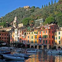 Europe, Italy, Portofino. Italian Riviera of Portofino.