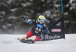 Pentcheva Teodora during the FIS snowboarding world cup race in Rogla (SI / SLO) | GS on January 20, 2018, in Jasna Ski slope, Rogla, Slovenia. Photo by Urban Meglic / Sportida