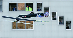 31.12.2016, Olympiaschanze, Garmisch Partenkirchen, GER, FIS Weltcup Ski Sprung, Vierschanzentournee, Garmisch Partenkirchen, Qualifikation, im Bild Andreas Wellinger (GER) // Andreas Wellinger of Germany during his Qualification Jump for the Four Hills Tournament of FIS Ski Jumping World Cup at the Olympiaschanze in Garmisch Partenkirchen, Germany on 2016/12/31. EXPA Pictures © 2016, PhotoCredit: EXPA/ Jakob Gruber