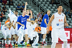 Players of Netherlands react during basketball match between Netherlands and Croatia at Day 5 in Group C of FIBA Europe Eurobasket 2015, on September 9, 2015, in Arena Zagreb, Croatia. Photo by Vid Ponikvar / Sportida