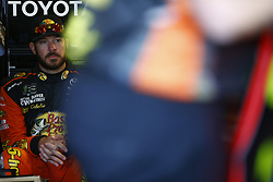 November 2, 2018 - Ft. Worth, Texas, United States of America - Martin Truex, Jr (78) hangs out in the garage during practice for the AAA Texas 500 at Texas Motor Speedway in Ft. Worth, Texas. (Credit Image: © Justin R. Noe Asp Inc/ASP via ZUMA Wire)
