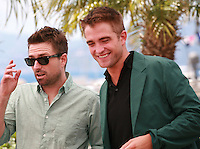Director David Michod and Robert Pattinson at the photo call for the film The Rover at the 67th Cannes Film Festival, Sunday 18th May 2014, Cannes, France.