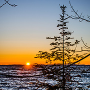 Early Sunrise Lake Superior