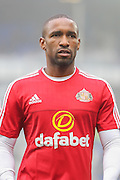 Sunderland forward Jermain Defoe  during the Barclays Premier League match between Everton and Sunderland at Goodison Park, Liverpool, England on 1 November 2015. Photo by Simon Davies.