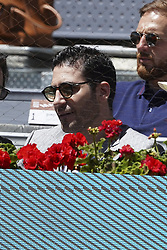 May 9, 2019 - Madrid, Spain - Miguel Ángel Silvestre  during day six of the Mutua Madrid Open at La Caja Magica on May 09, 2019 in Madrid, Spain  (Credit Image: © Oscar Gonzalez/NurPhoto via ZUMA Press)