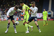 Brighton defender, full back, Liam Rosenior (23) during the Sky Bet Championship match between Preston North End and Brighton and Hove Albion at Deepdale, Preston, England on 5 March 2016.
