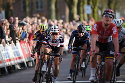 Coryn Rivera just misses out on the podium at Drentse 8 2017. A 143 km road race on March 12th 2017, starting and finishing in Dwingeloo, Netherlands. (Photo by Sean Robinson/Velofocus)