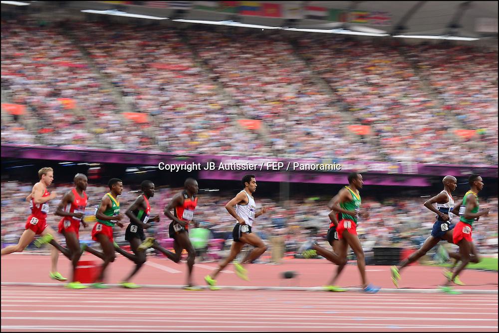 Mohamed Farah (gbr) - finale 5000m hommes