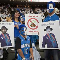 BASKET BALL - PLAYOFFS NBA 2008/2009 - LOS ANGELES LAKERS V ORLANDO MAGIC - GAME 3 -  ORLANDO (USA) - 09/06/2009 - .FANS (ORLANDO MAGIC)
