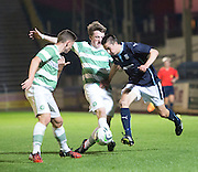 Dundee's Cammy Kerr runs at the Celtic defence -  Celtic v Dundee,  SPFL Development League at Cappielow<br /> <br />  - © David Young - www.davidyoungphoto.co.uk - email: davidyoungphoto@gmail.com