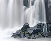 Selfoss is a waterfall on the river Jökulsá á Fjöllum in the north of Iceland