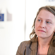 04 June 2015 - Belgium - Brussels - European Development Days - EDD - Migration - Migration , environment and climate change - Evidence for policy - Agata Sobiech , Programme Officer , Migration and Asylum Sector - Unit B3 , DG International Cooperation and Development , European Commission © European Union