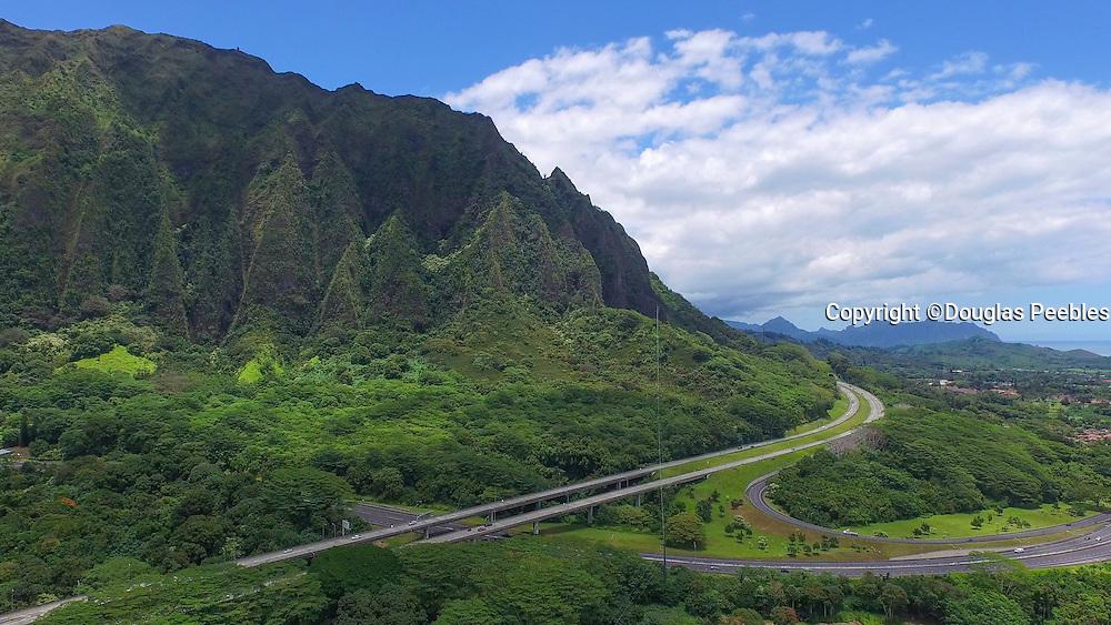 Koolau, Mountains, Oahu, Hawaii