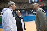 Paolo Conti, Dino Rada Radja<br /> Nazionale Italiana Maschile Senior - Allenamento<br /> FIP 2017<br /> Zagabria, 26/11/2017<br /> Foto M.Ceretti / Ciamillo-Castoria
