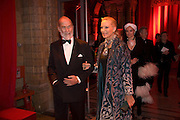 PRINCE AND PRINCESS MICHAEL OF KENT, Cartier Dinner to celebrate the re-opening of the Cartier U.K. flagship store, New Bond St. Natural History Museum. 17 October 2007. -DO NOT ARCHIVE-© Copyright Photograph by Dafydd Jones. 248 Clapham Rd. London SW9 0PZ. Tel 0207 820 0771. www.dafjones.com.