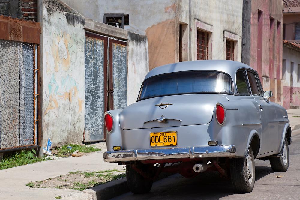 Opel in Holguin, Cuba.