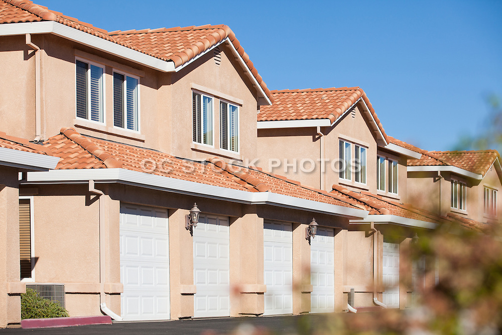 Attached Multi-Story Townhomes in Orange County