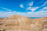 mountain of The Herod's castle machareus in Jordan