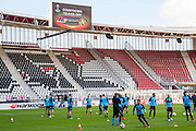ALKMAAR - 19-10-2016, training persconferentie AZ, AFAS Stadion,
