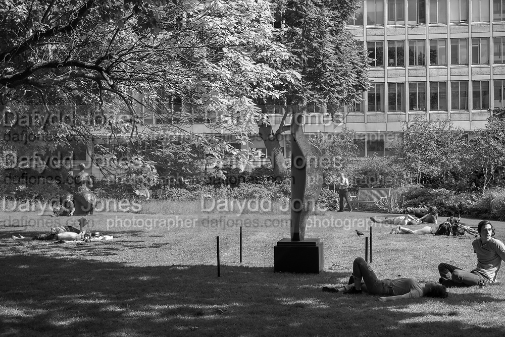 Sculpture in the park,  from an upcoming auction at Christies, St. James's Sq.park  London. 24 May 2017