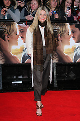 Nicola Stapleton at The Lucky One premiere in  London, 23rd April 2012.  Photo by: Chris Joseph / i-Images