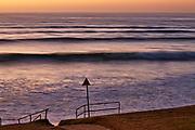 sunrise waves at Torquay Surf Beach