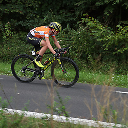 29-08-2018: Wielrennen: Ladies Tour: Nijmegen<br /> Annemiek van Vleuten solo onderweg naar de zege