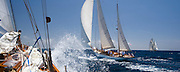 Nordwind, Belle Venture at the Antigua Classic Yacht Regatta