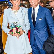 NLD/Tilburg/20170427- Koningsdag 2017, Maurits en partner Marilene van den Broek