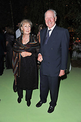 CHARLES & PATTI PALMER-TOMKINSON at a dinner hosted by Cartier in celebration of the Chelsea Flower Show held at Battersea Power Station, 188 Kirtling Street, London SW8 on 23rd May 2011.