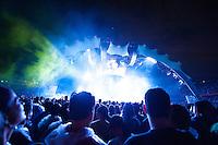 São Paulo/SP - 10.04.2011. Show de abertura do MUse para a banda U2, em sua turnê 360 no estádio do Morumbi. São Paulo/SP - 10.04.2011. Opening show from Muse for the U2 360 world tour in Brazil, Morumbi stadium.