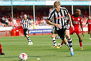 Notts County forward Jonathan Stead (30) during the EFL Sky Bet League 2 match between Crawley Town and Notts County at the Checkatrade.com Stadium, Crawley, England on 27 August 2016. Photo by Andy Walter.