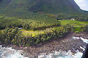 Father Damiens Churchh, Kalaupapa, North Shore, Molokai, Hawaii