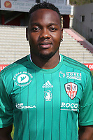 Riffi Mandanda during photoshooting of AC Ajaccio for new season 2017/2018 on October 5, 2017 in Ajaccio, France. (Photo by Jp Belzit/Icon Sport)