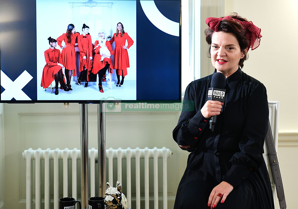 Lulu Guinness at a Build event, in association with Yahoo Style, in Somerset House, London.