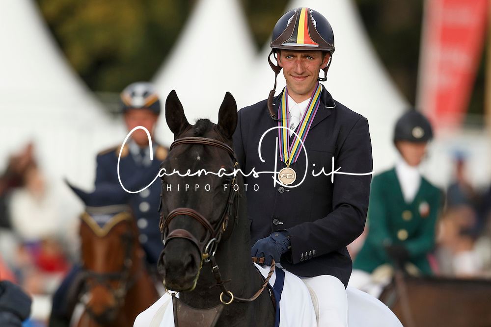 Martens Vincent, (BEL), Eiskonig<br /> Horses 7 years of age<br /> Mondial du Lion - Le Lion d'Angers 2015<br /> © Dirk Caremans<br /> 18/10/15